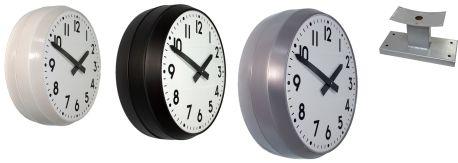 relojes analogicos doble cara