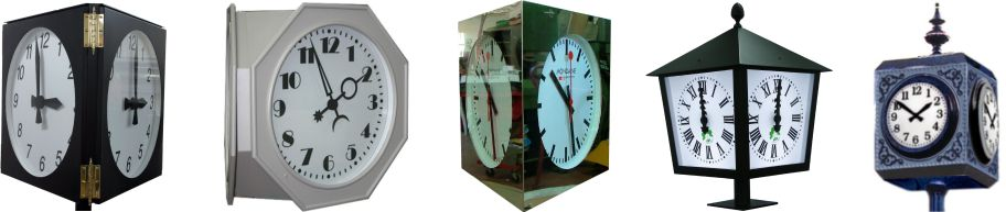 relojes analogicos varias caras