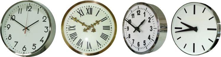 relojes analogicos varios