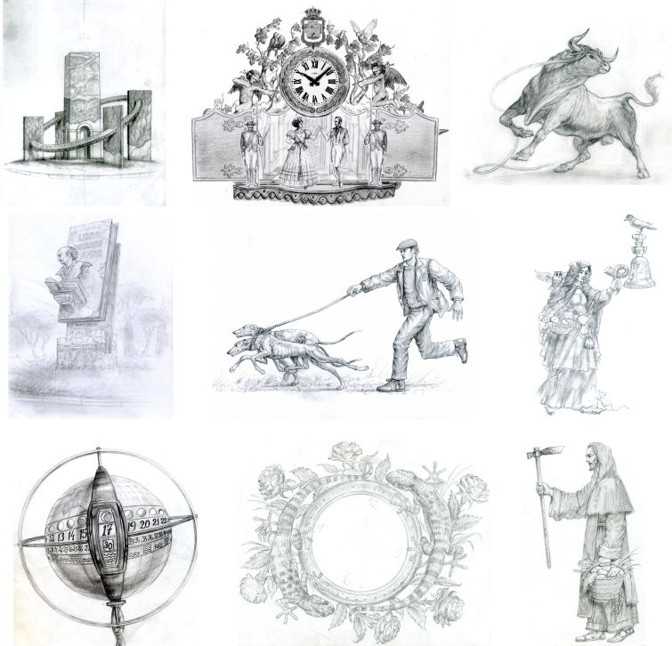 bocetos