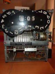 reloj de fichar IBM