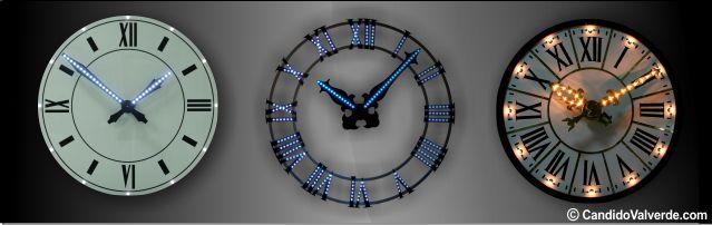 reloj de torre portada