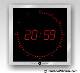 30d14e20df30 Reloj digital pared - Relojes Industriales - Candido Valverde S.L