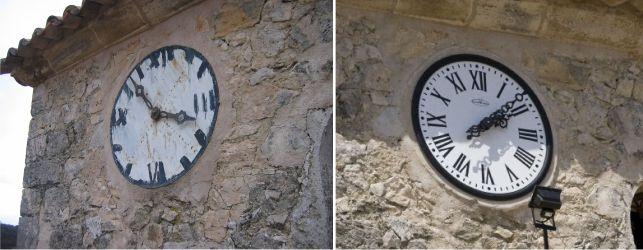 relojes monumentales esferas