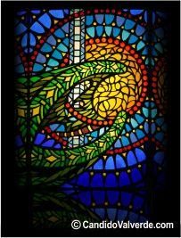 vidrieras artisticas retroiluminada