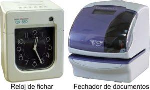 relojes industriales - de fichar