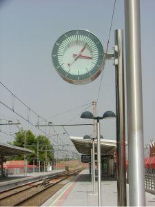 relojes industriales - renfe