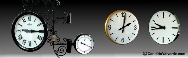 relojes industriales