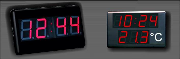 relojes y termometros digitales